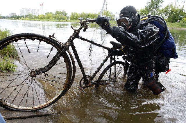 Чистая Москва река?